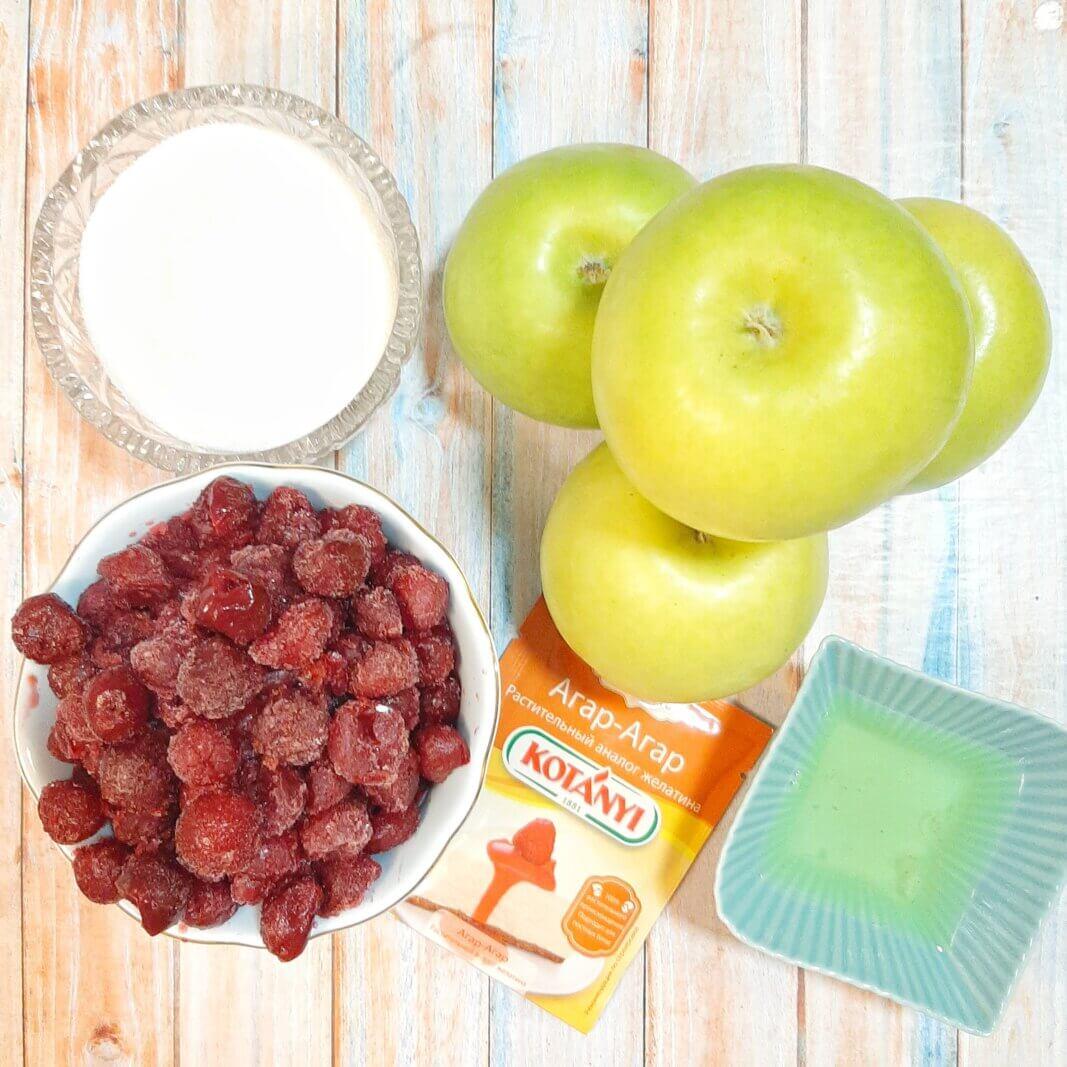 продукты для домашнего зефира на агар-агаре