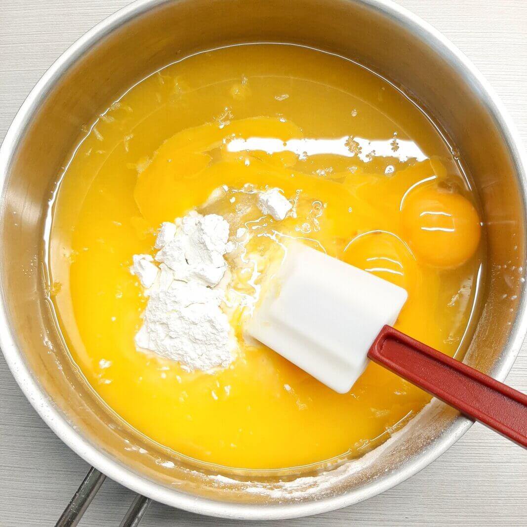 приготовление апельсинового курда