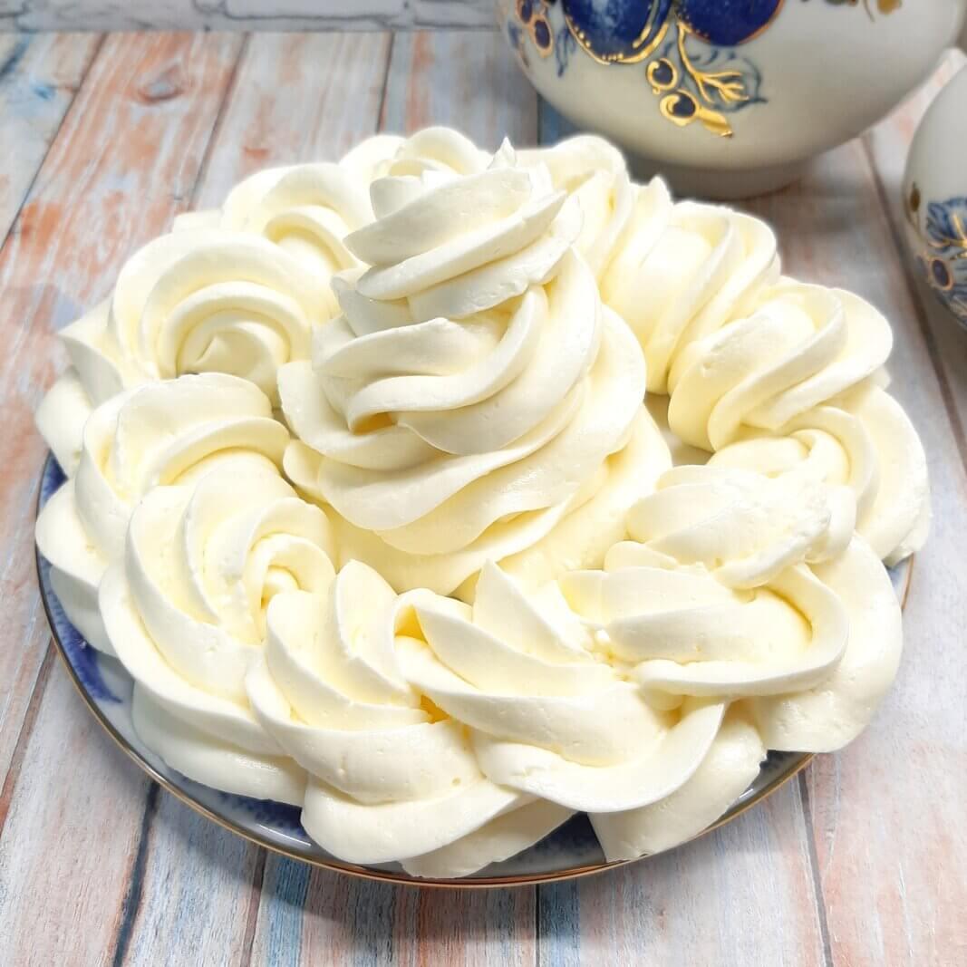 густой сметанный крем для торта