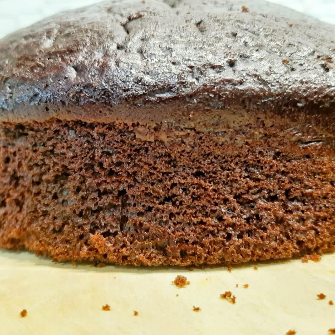 Шоколадный бисквит на кефире